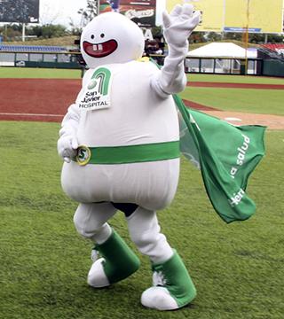 """Charros"" has scored a homerun for health with Hospital San Javier"